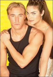"Brady & Chloe, from ""Days of Our Lives"". Oh god, how they could love"
