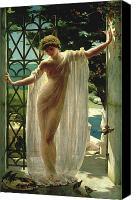 Lesbia. Painting by John Reinhard Weguelin.