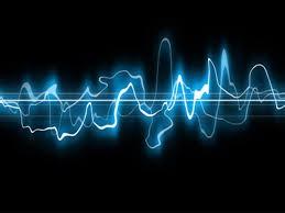 Orgasm scream represented as sound wave.