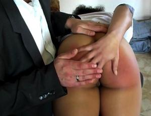 ana spanking