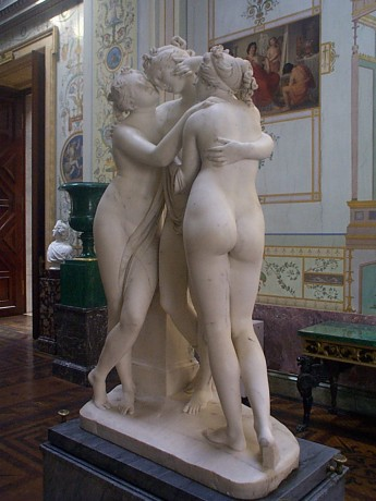 Canova's Three Graces