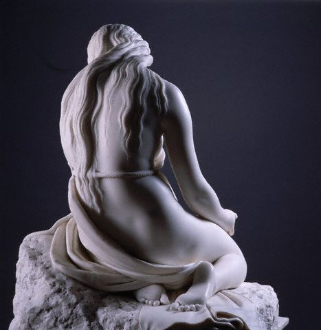 Back View of Penitent Magdalen by Antonio Canova
