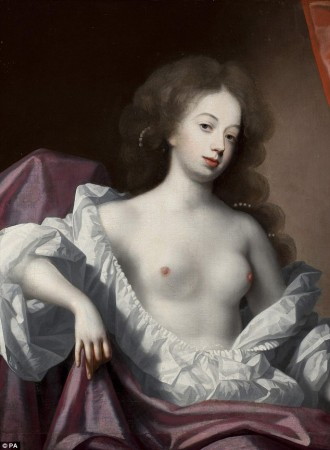"The wonderful Nell Gwyn. Google her name and the words ""Protestant whore"" to find out why the London mob loved her. It's a good story, but it's too off-topic for this post."