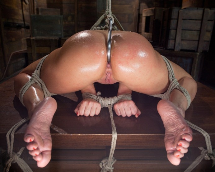 sm bondage anal video