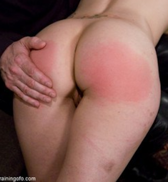 bed spanked