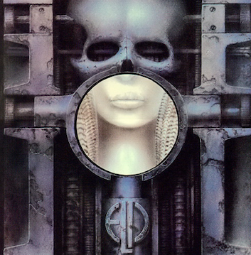 "This made artist HR Giger a superstar, and probably helped him get the gig for designing ""Alien"". The title refers to fellatio, and so does a detail in the artwork, only half airbrushed away from the women's neck"