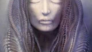 The inside image on the Brain Salad Surgery cover. Same model: Giger's wife.