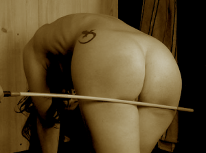 rude girl caned