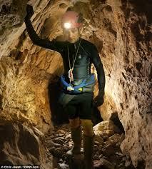 A cave man
