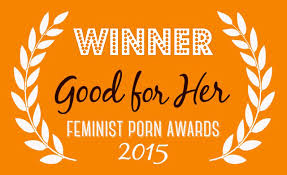 What Pandora Blake, feminist spanko porn-maker, won in 2015. Honestly, they should just call it The Pandora Blake Award, from now on