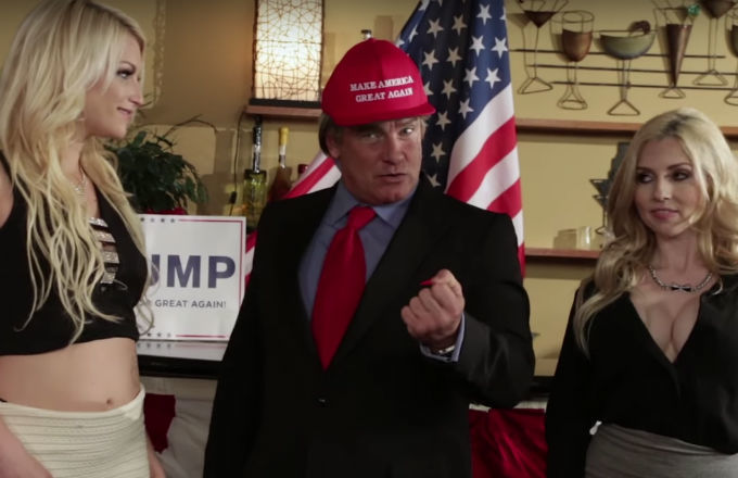 Larry Flynt production values, but a better Trump impersonator than Alex Baldwin