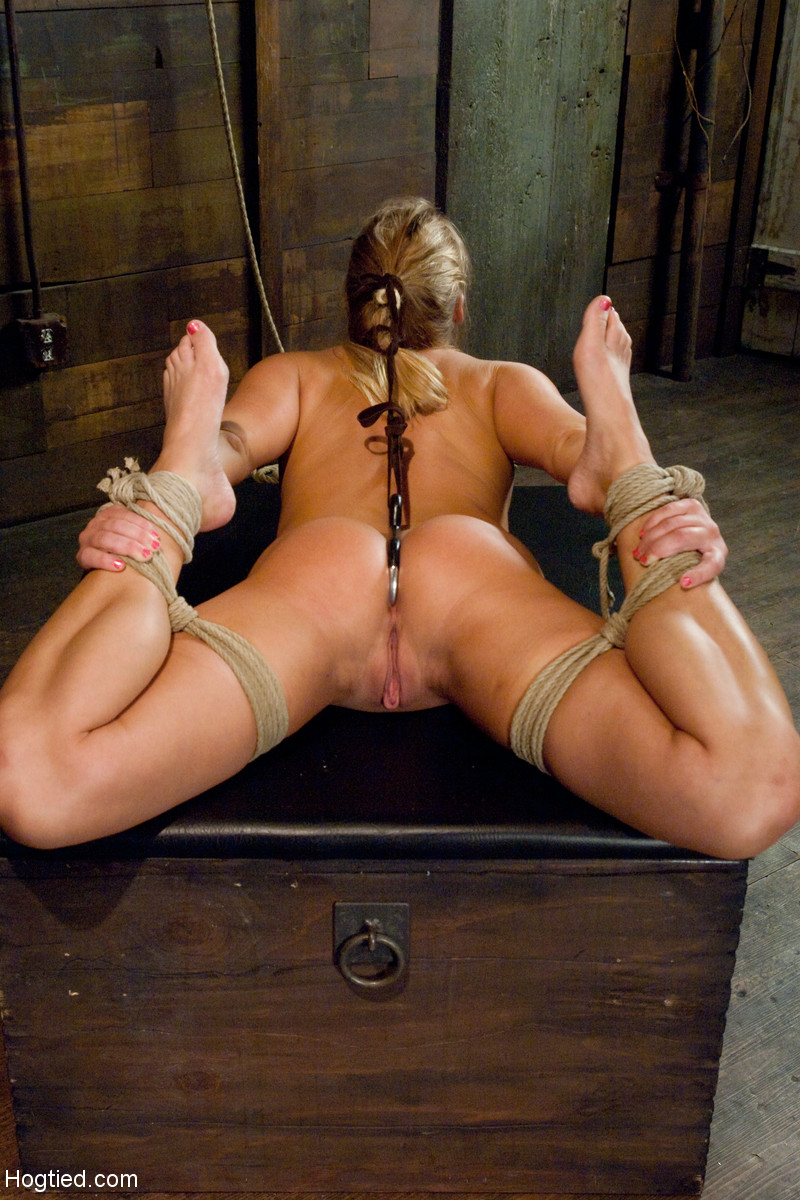 Ass hook bondage